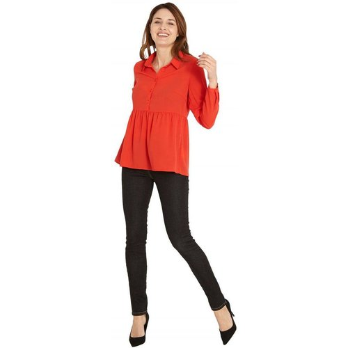 Blouse large unie - RIU PARIS - Modalova