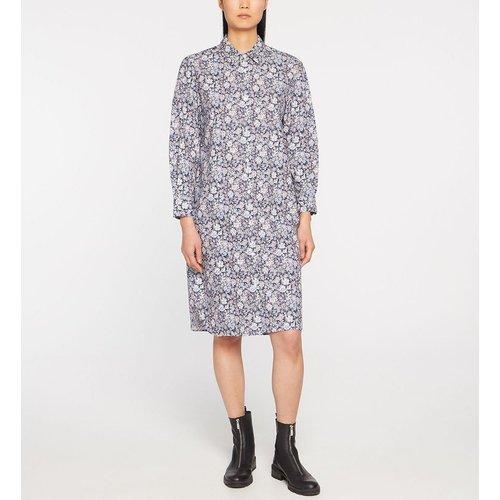 Robe Chemise Ciberte Genoux Droite Coton Liberty - JODHPUR - Modalova
