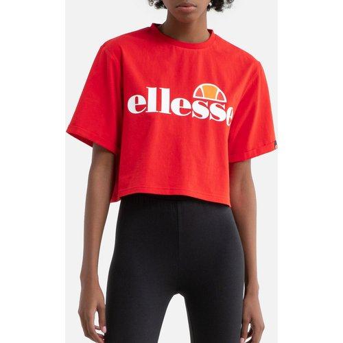 T-shirt court en coton Alberta avec logo - Ellesse - Modalova