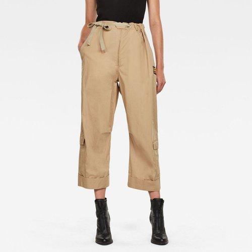 Worker Pantalon Taille Haute Uni - G-Star Raw - Modalova