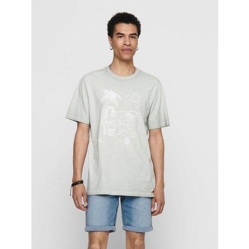 T-Shirt Imprimé - Only & Sons - Modalova