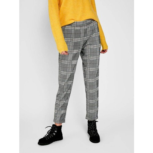 Pantalon raccourci Taille mi-haute - Pieces - Modalova