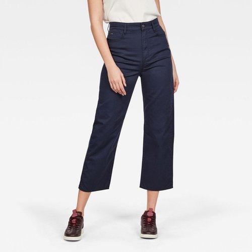 Worker Pantalon Droit Taille Haute Tedie - G-Star Raw - Modalova