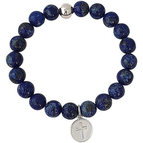 Bracelet pierres naturelles lapis lazuli SERENITY - SECRETS DES ANGES - Modalova