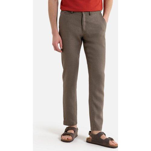 Pantalon chino en lin - LA REDOUTE COLLECTIONS - Modalova