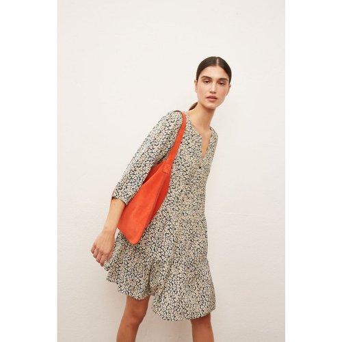 Robe courte oversize imprimée SAVINA - Gerard Darel - Modalova