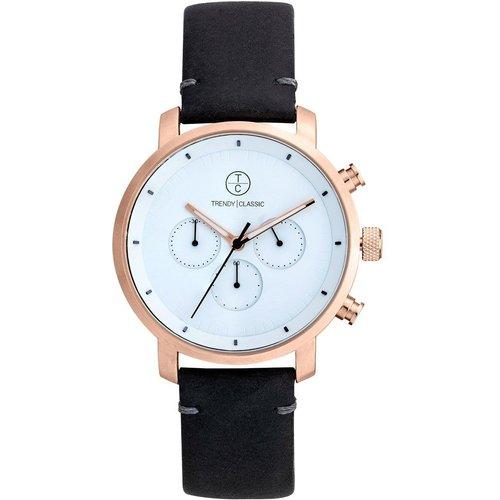 Montre chronographe bracelet cuir Impulse - TRENDY CLASSIC - Modalova