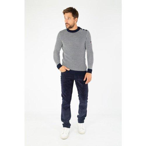 Pantalon droit en velours - ARMOR-LUX - Modalova