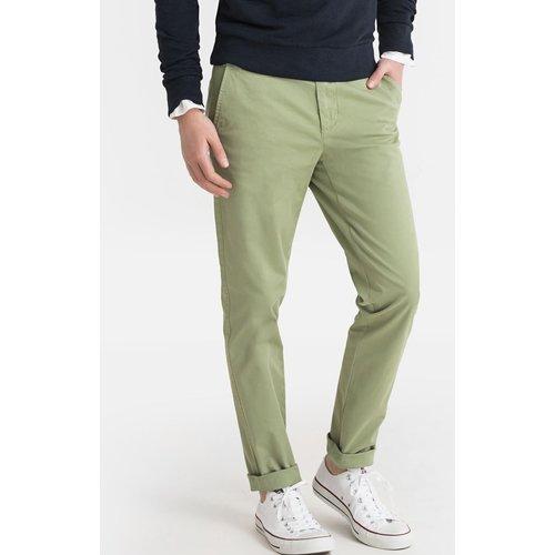 Pantalon chino coupe slim, coton stretch - Benetton - Modalova