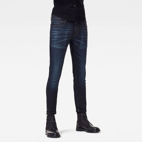 Jean Skinny Taille Moyenne Uni - G-Star Raw - Modalova
