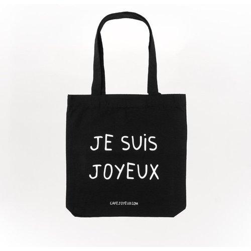 Totebag Je suis joyeux - JOYEUX SERVI AVEC LE CŒUR - Modalova