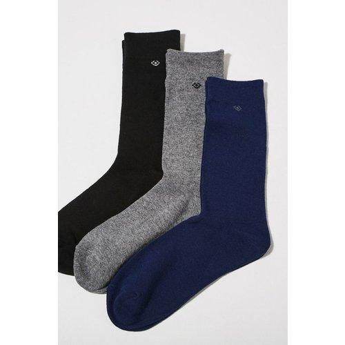 Lot 3 paires de chaussettes unies - BONOBO - Modalova