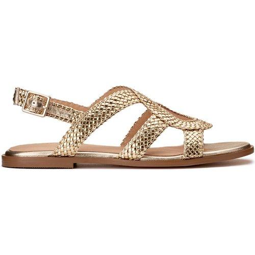 Sandales cuir tressées Hirene - COSMOPARIS - Modalova