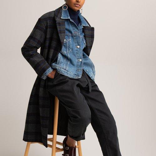 Manteau ample à carreaux - LA REDOUTE COLLECTIONS - Modalova