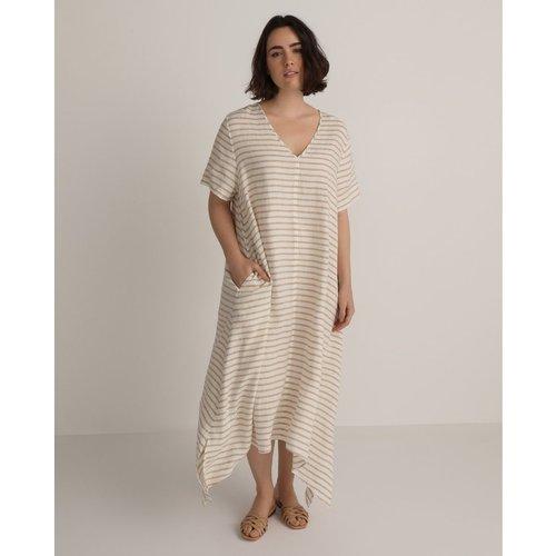 Robe à motif 100 % lin - COUCHEL - Modalova