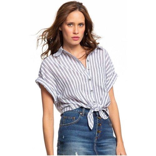 Chemise manches courtes nouée sur le devant FULL TIME DREAM - Roxy - Modalova