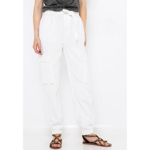 Pantalon chino coton - CAMAIEU - Modalova