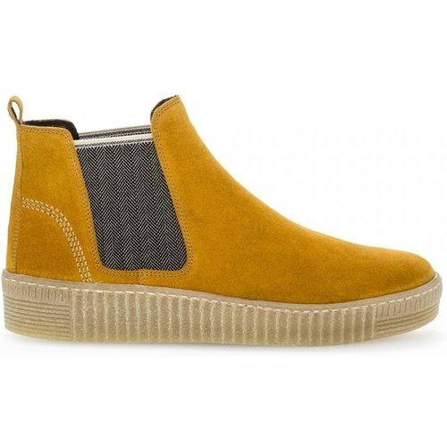 Boots velours talon compensé plat - Gabor - Modalova