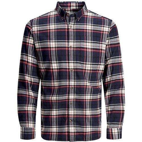 Chemise slim stretch à carreaux Classic - jack & jones - Modalova