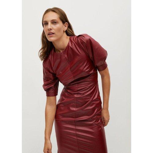 Robe effet cuir - Mango - Modalova