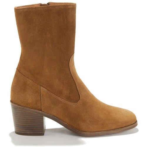 Boots mi-hautes en cuir LUDD - SESSUN - Modalova