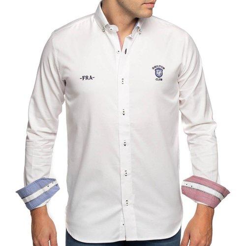 Chemise rugby France manches longues - SHILTON - Modalova