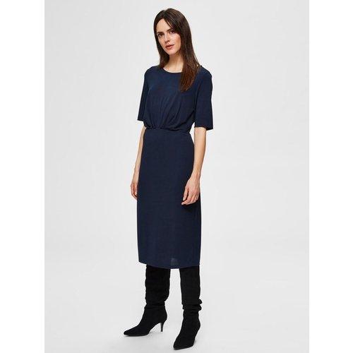 Robe mi-longue Modal doux  - Selected Femme - Modalova