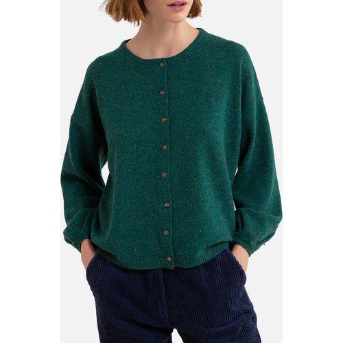 Cardigan long en laine en fine maille BILA - Harris wilson - Modalova