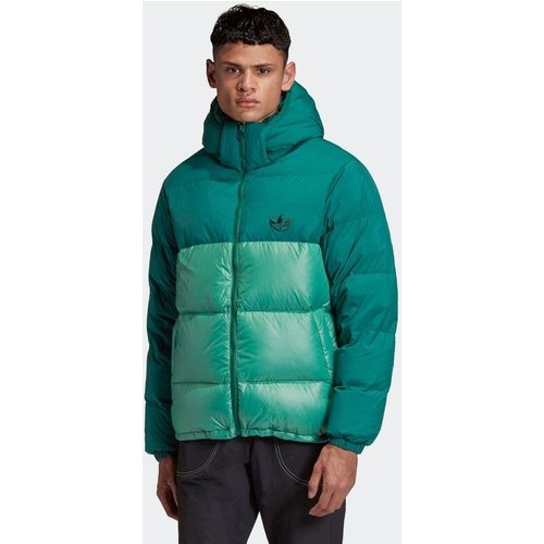 Veste Down Regen Hooded Blocked Puffer - adidas Originals - Modalova