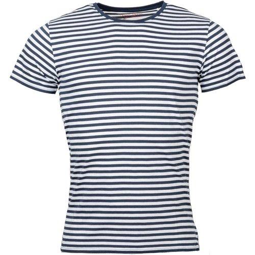 Tee-shirt col rond Stripes coton - Teddy smith - Modalova