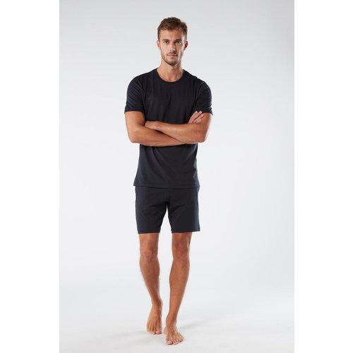 Pyjama court en coton supima® basique - INTIMISSIMI - Modalova