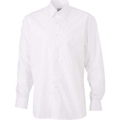 Chemise col boutonné sans repassage - JN - Modalova
