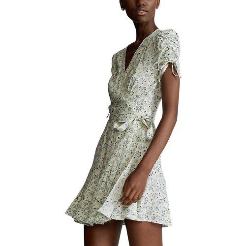Robe portefeuille courte imprimée - Polo Ralph Lauren - Modalova