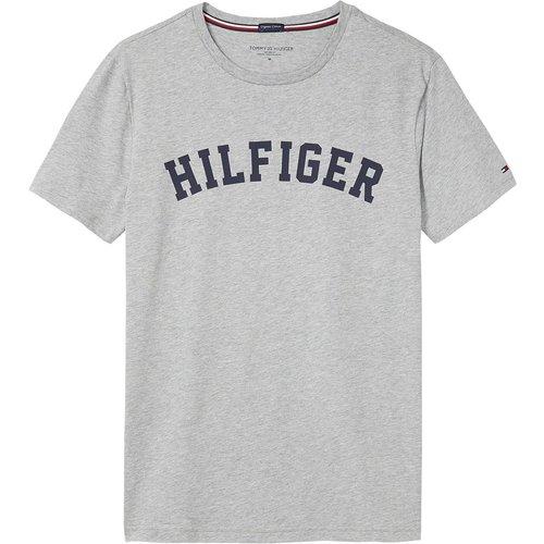 T-shirt imprimé poitrine, col rond - Tommy Hilfiger - Modalova