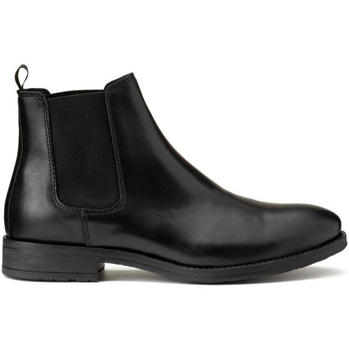 Boots élastiquée cuir Jason Chelsea - jack & jones - Modalova