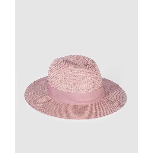 Chapeau fedora en papier - GLORIA ORTIZ - Modalova