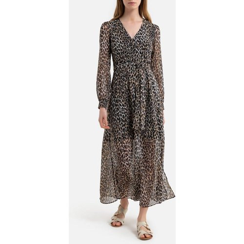 Robe imprimée en voile motif - IKKS - Modalova