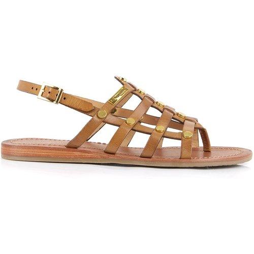 Sandales entre-doigts en cuir HAKEA - LES TROPEZIENNES PAR M BELARBI - Modalova