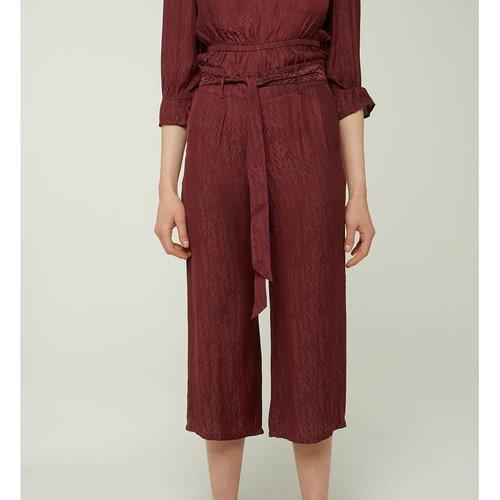 Pantalon Pyjama Large Fluide Alicia - GALERIES LAFAYETTE - Modalova