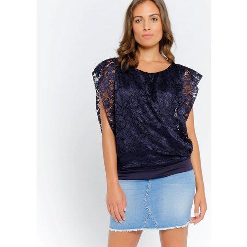 T-shirt en dentelle - LOLALIZA - Modalova