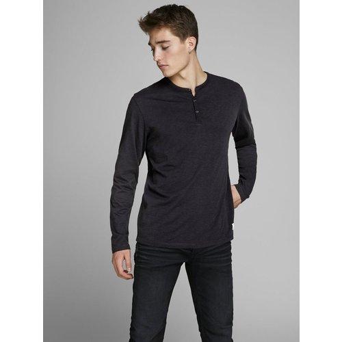 T-shirt à manches longues Col tunisien - jack & jones - Modalova