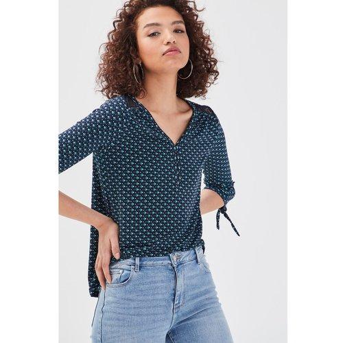 T-shirt manches 3/4 dentelle - CACHE CACHE - Modalova