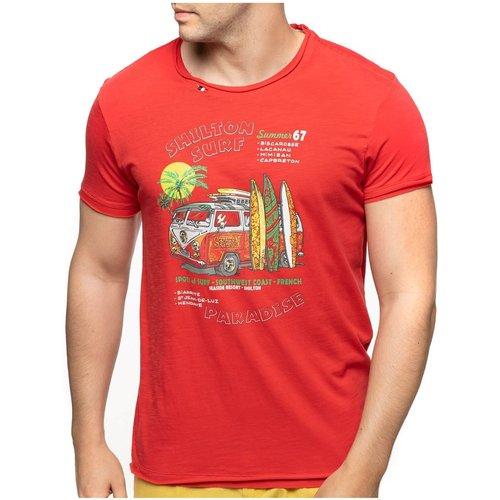T-shirt col rond paradise SURF - SHILTON - Modalova