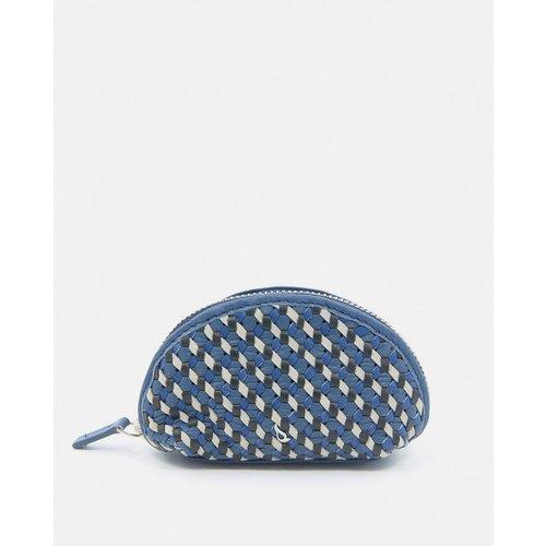 Portemonnaie zippé avec motif tressé - ABBACINO - Modalova