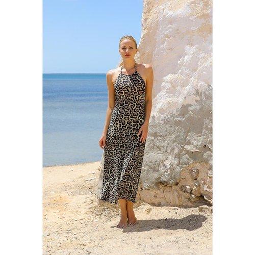 Maillot de Bain Robe Longue Python Swimwear - SORAYA - Modalova