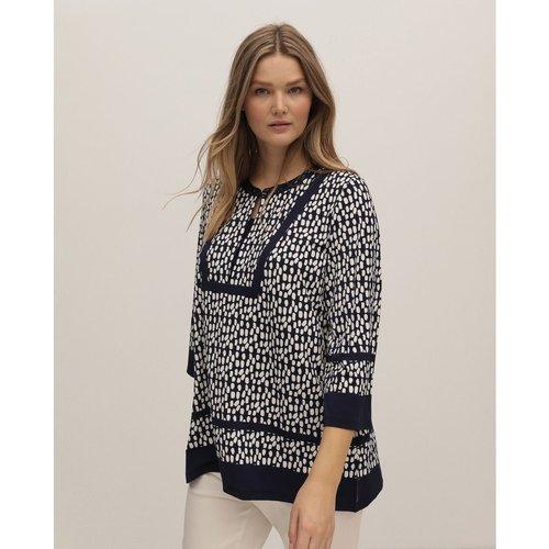 Tshirt casaque imprimé - COUCHEL - Modalova