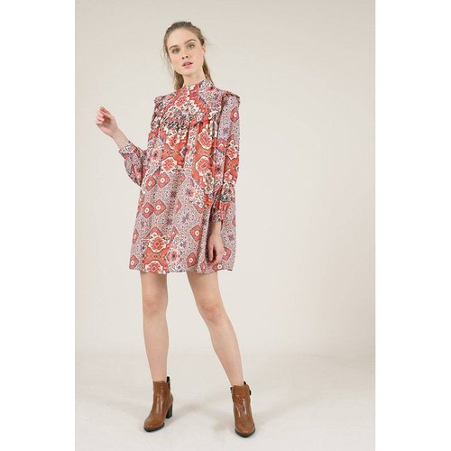 Robe évasée courte imprimée - MOLLY BRACKEN - Modalova