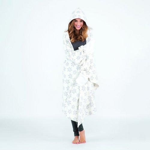 Plaid tout doux à capuche et gants - MELISSA BROWN - Modalova