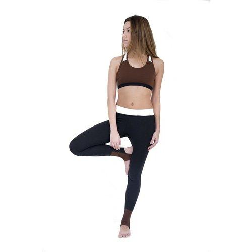 Brassière de yoga en coton bio BONNIE - LUZ COLLECTIONS - Modalova