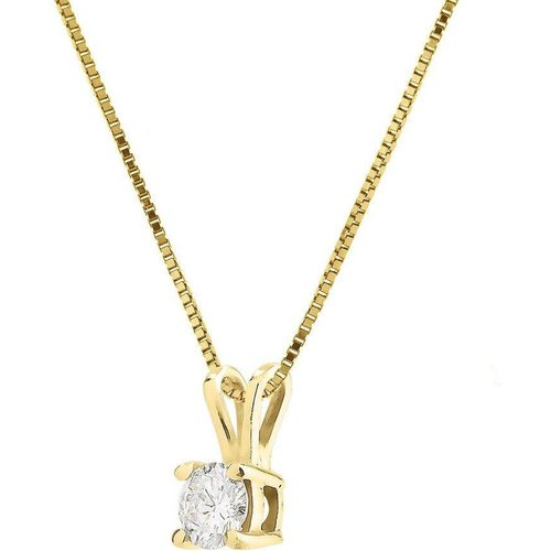 Collier Or jaune ANAËLLE - NOVA DIAMONDS - Modalova
